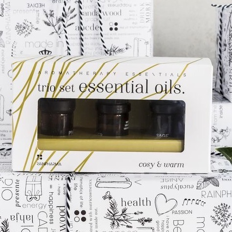 Trio essential oils – cosy & warm