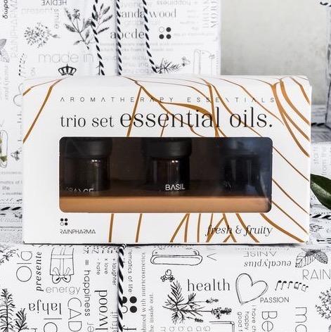 Trio Essential Oils – Fresh & Fruity