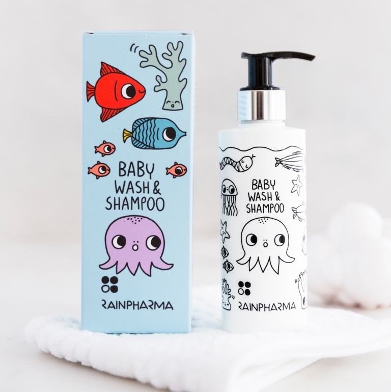Baby Wash & Shampoo 200 ml