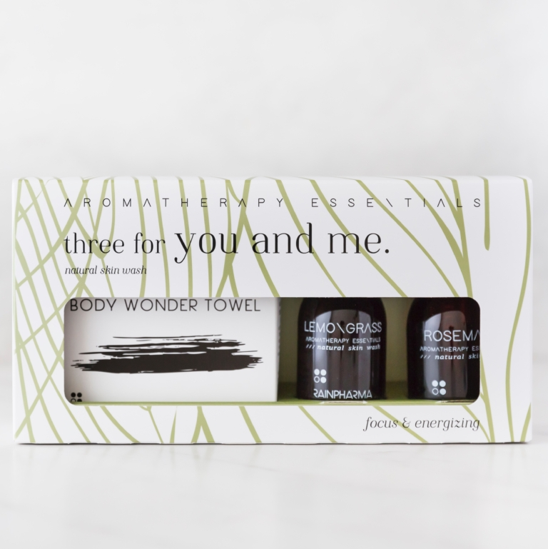 Three for you and me – focus & energizing