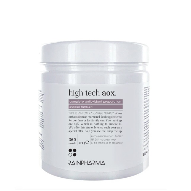 High Tech AOX 365 caps