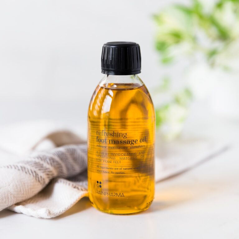 Refreshing Foot Massage Oil