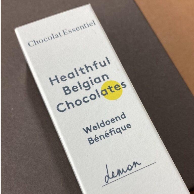 Chocolat Essentiel Lemon – Brainbooster